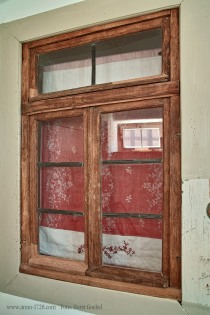 We have two internal windows. We haven't found out why they had windows within the house. Do you know?