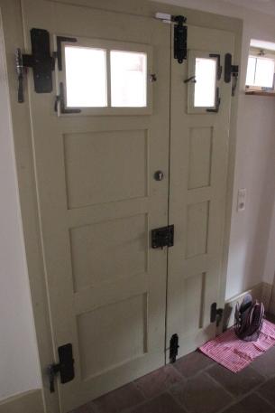 Die Haustür von 1728